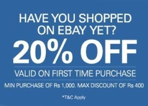 Ebay discount coupon for new user